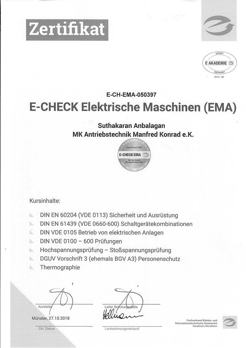 e-check-zertifikat