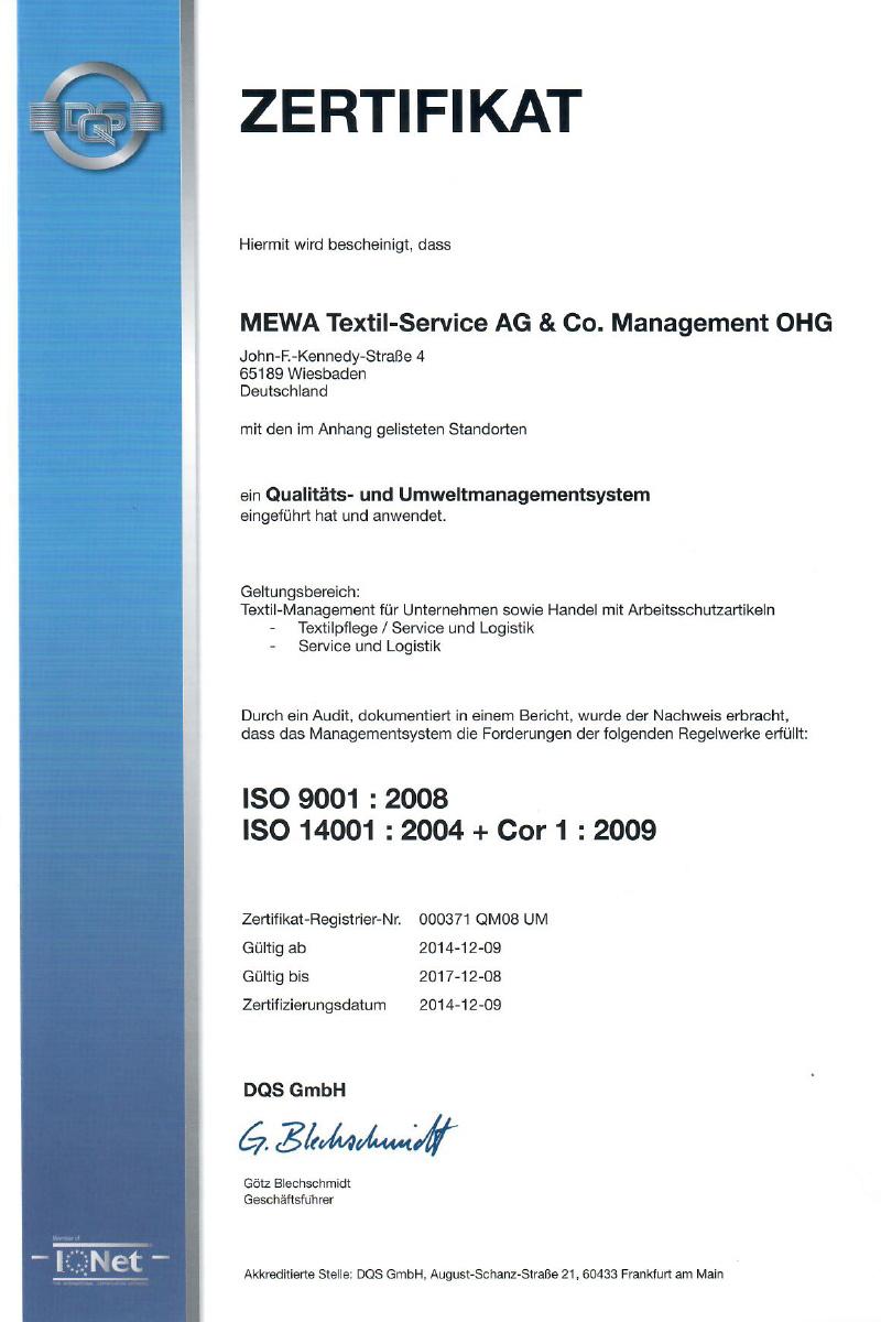 mewa-zertifikat